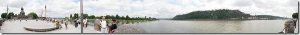Deutsche Eck - panorama